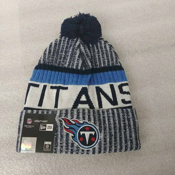 352a8e1bdaf Titans beanie knit winter hat